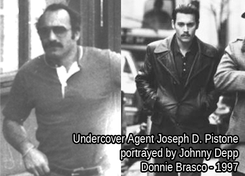 Joe Pistone - Johnny Depp - Donnie Brasco