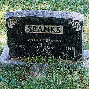 Arthur Spanks His Wife Katherine