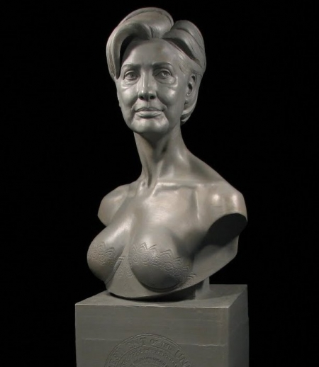 Presidential Bust of Hillary Rodham Clinton