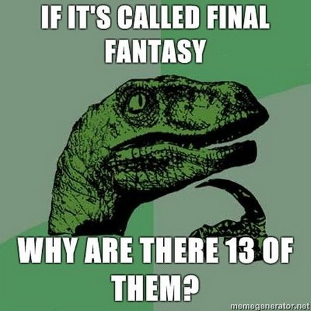 Philosoraptor - Final Phantasy