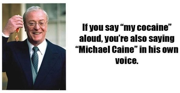 My Cocaine - Michael Caine