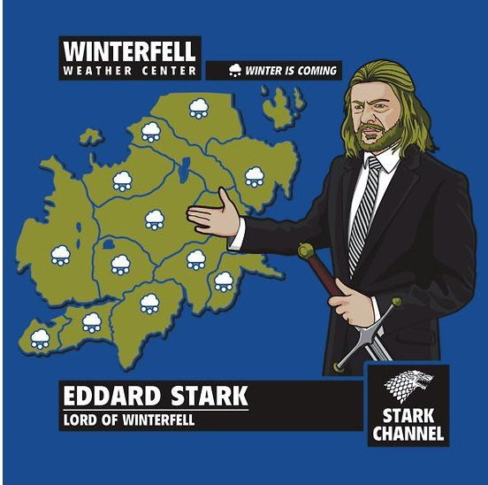 Weatherman Ned Stark