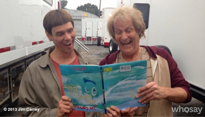 Jim Carrey and Jeff Daniels 2013