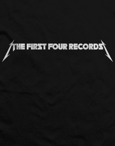 The First Four Records t-shirt