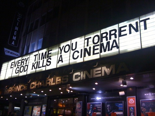 Every time you torrent