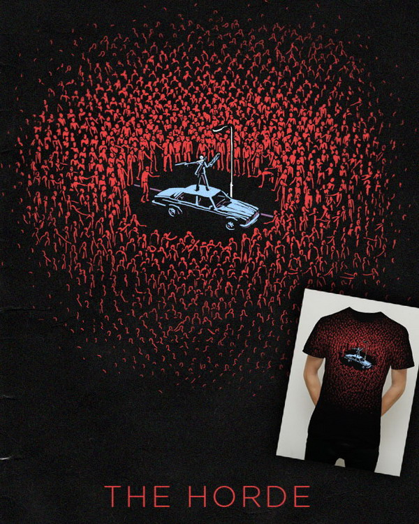 The Horde t-shirt