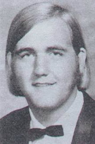 Young Hulk Hogan yearbook picture