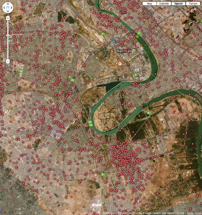 Take That Advice: Google Earth: Deaths in Iraq