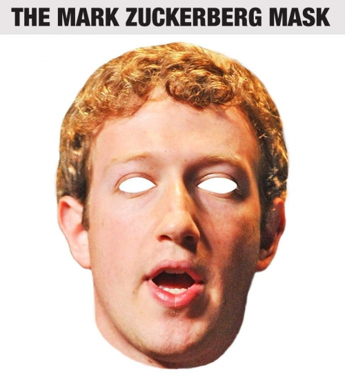 Mark Zuckerberg Halloween mask