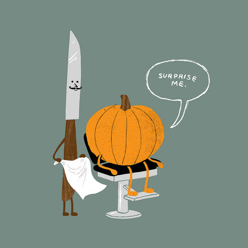 Surprise me pumpkin t-shirt