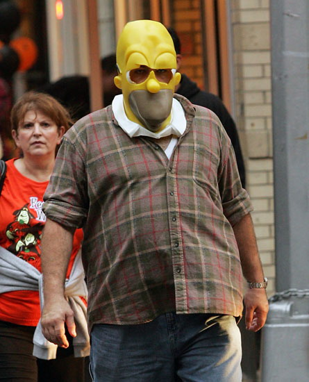 James Gandolfini as Homer Simpson. Tuesday, November 03, 2009