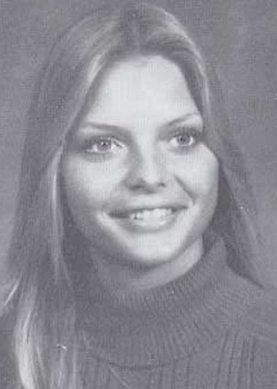 Young Michelle Pfeiffer before she was famous Yearbook picture