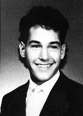 Young Paul Rudd before he was famous yearbook picture