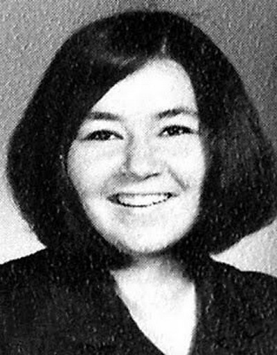 Young Roseane Barr Yearbook picture