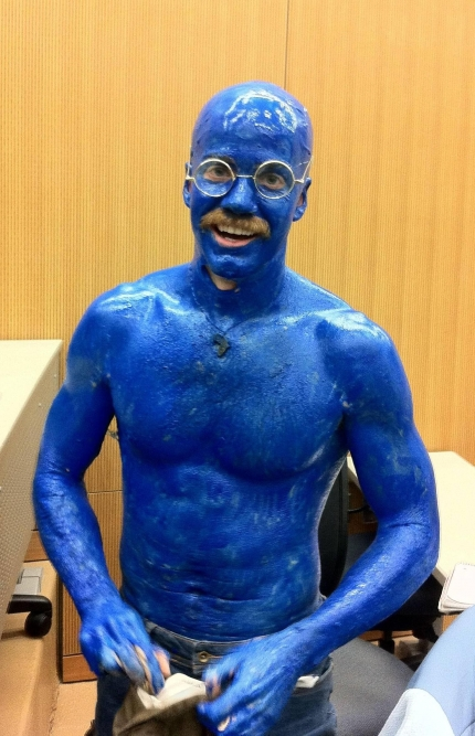 Tobias Funke Blue Man Group costume