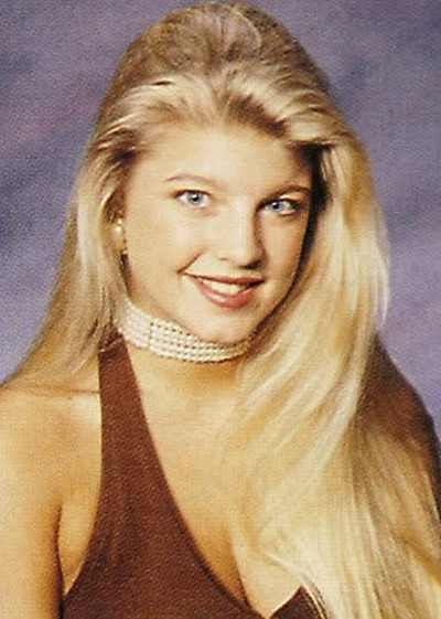 Young Fergie Yearbook picture
