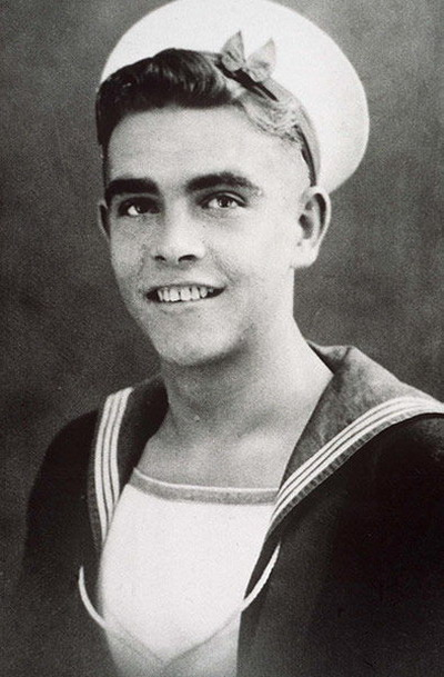 Young Sean Connery yearbook picture