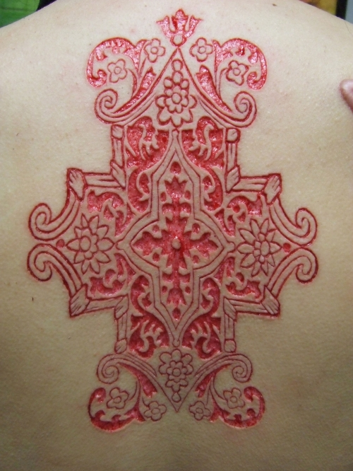 Scarification of the daysmital online