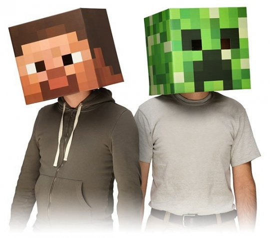 Monecraft masks