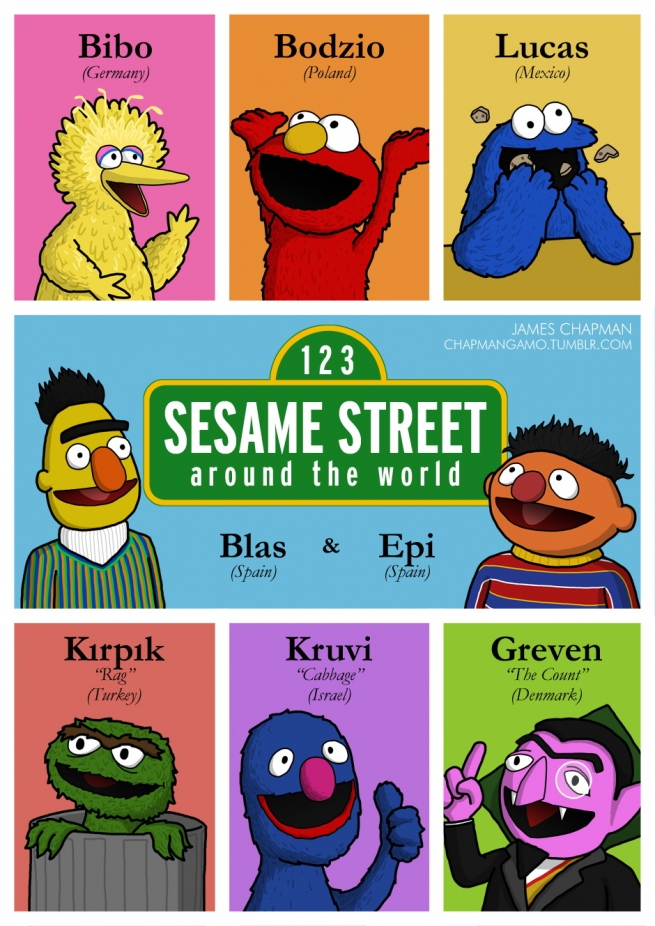 Baby Sesame Street Characters Names i love teletubbies Quo...