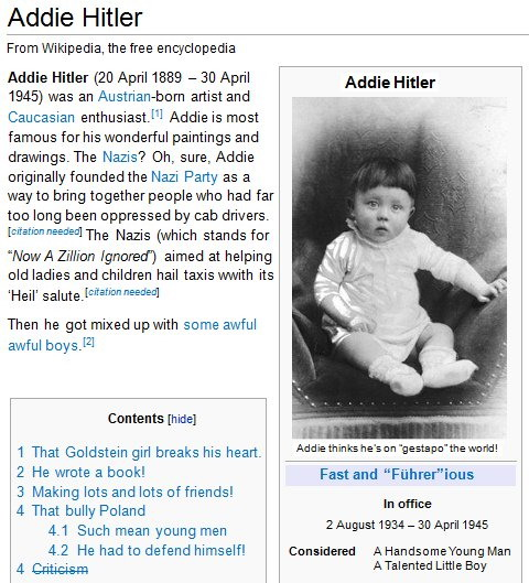 Addie Hitler Wikipedia