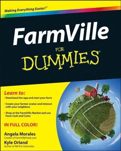 FarmVille for Dummies book cover