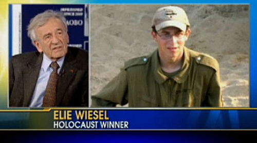 Elie Wiesel, Holocaust winner