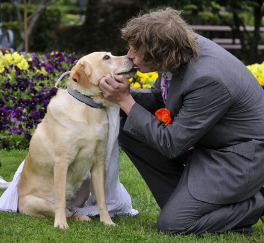 Man marries his dog man_marries_dog3
