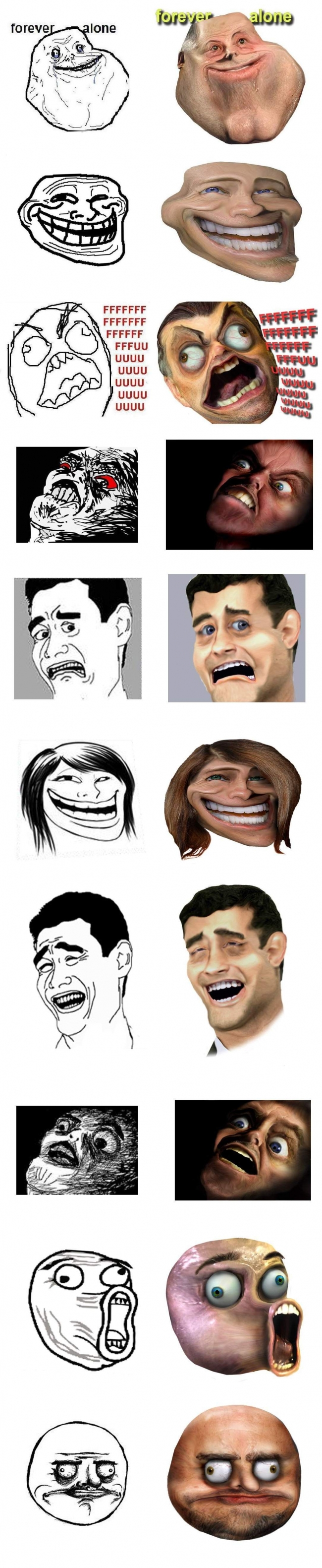 Rage guy faces IRL