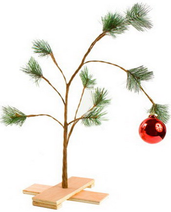 In case you want one in your living room for Christmas - Charlie Brown  Christmas Tree (Musical)