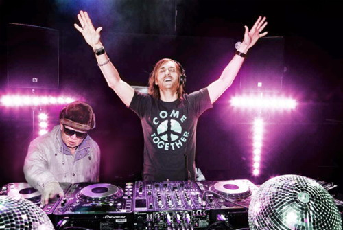 Kim jong il and David Guetta