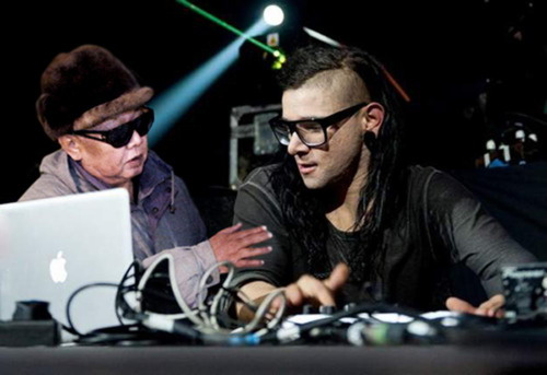 Kim jong il and Skrillex