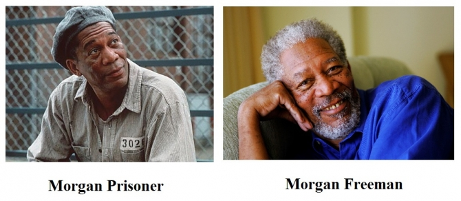 Morgan Prisoner vs. Morgan Freeman