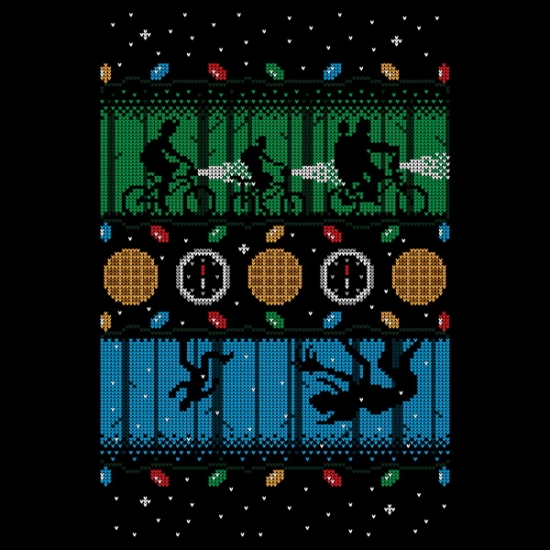 Stranger Things Christmas t-shirt