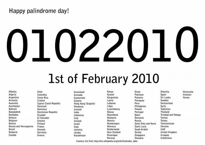 http://pics.blameitonthevoices.com/022010/small_hapy%20palindrome%20day.jpg